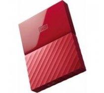 Western Digital 2TB My Passport - Red | WDBS4B0020BRD-WESN  | 718037857732