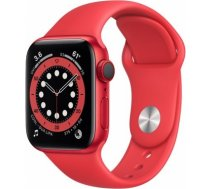 Apple Watch Series 6 red aluminium 40mm 4G (product) red sport band DE