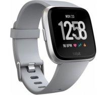 Fitbit Versa Smartwatch grey/aluminium silver