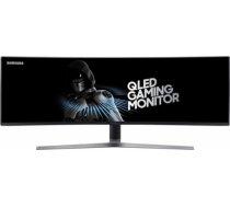 Monitor Samsung 49inch LC49HG90DMUXEN QLED, VA, DP/3.5mm jack, curved