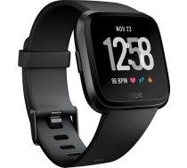 Fitbit Versa Wristband activity tracker white/black aluminium