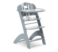 Barošanas krēsli - Barošanas krēsls CHILDHOME Lambda 2 Baby Grow Chair jade green + Tray Cover