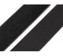 Velcro melna lenta 50 mm Adhesive Hook and Loop Fastener width 50 mm
