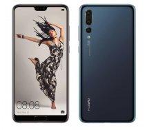 "Smartphone | HUAWEI | P20 Pro | 128 GB | Midnight Blue | 3G | LTE | OS Android 8.1 | Screen 6.1"" | 1080 x 2240 | OLED | Dual SIM | 1xUSB type C | 2xNano-SIM card tray | Camera 40MP+20MP+8MP | 24MP | F"