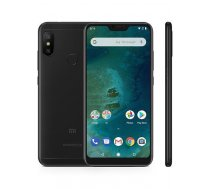 "Smartphone   XIAOMI   Mi A2 Lite   64 GB   Black   3G   LTE   OS Android 8.1   Screen 5.84""   2280 x 1080   IPS-LCD   Dual SIM   1xMicro-USB   1xHeadphones jack   2xNano-SIM card tray   Camera 12MP+5M"