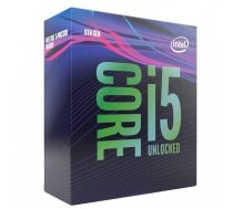 CPU | INTEL | Core i5 | i5-9600K | Coffee Lake | 3700 MHz | Cores 6 | 9MB | 95 Watts | GPU UHD 630 | BOX | BX80684I59600KSRELU