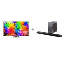 "Samsung QE55QN85AAT 55 ""4K Ultra HD LED TV + HW-Q800A Soundbar Product Package"