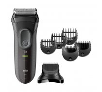Braun Series 3 - 3000BT Shave & Style 3-in-1 razor with precision trimmer gray