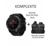 GARMIN Fēnix 5X Plus + Wireless Earbuds Mifa X3