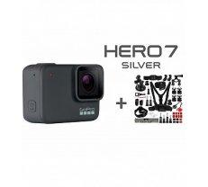 GOPRO Hero 7 Silver + 45 in 1 aksesuaru komplekts