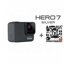 GOPRO Hero 7 Silver + Accessories Combo Kit sporta kamera