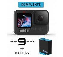 GOPRO HERO9 Black + Battery sporta kamera