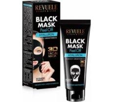 Revuele Black Mask 3D Facial Peel Off Hyaluron 80ml