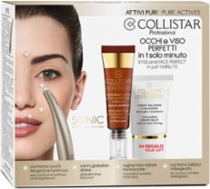 Collistar Sonic Eye&Face System Pure Actives Set 3 Pieces 2018