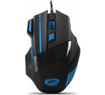 Esperanza Wired Gaming Optical Mouse MX201 WOLF blue EGM201B T-MLX30645