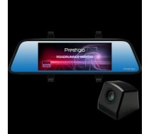 Car Video Recorder PRESTIGIO RoadRunner MIRROR (Front: FHD 1920x1080@30fps
