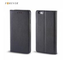 Forever Magnēstikas Fiksācijas Sāniski atverams maks bez klipša Huawei P20 Pro / Plus Melns