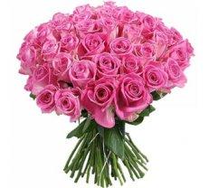 Rozā rozes 60 cm (skaits pēc izvēles)
