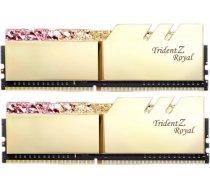 G.SKILL Trident Z Royal Gold 16GB 3000MHz CL16 DDR4 KIT OF 2 Series F4-3000C16D-16GTRG