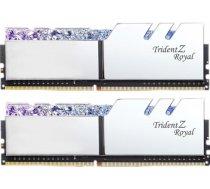 G.SKILL Trident Z Royal Silver 16GB 3200MHz CL14 DDR4 KIT OF 2 Series F4-3200C14D-16GTRS F4-3200C14D-16GTRS