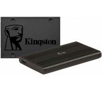 "Kingston A400 480GB SATAIII 2.5"" + iTec MySafe Advance MYSAFEU31"