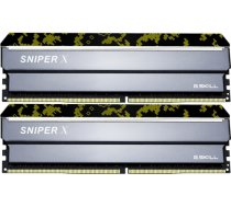 G.SKILL Sniper X Digital Camo 16GB 3200MHz CL16 DDR4 KIT OF 2 F4-3200C16D-16GSXKB
