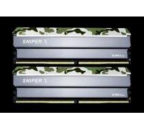 G.Skill Sniper X DDR4 16GB (2x8GB) 3200MHz CL16 1.35V XMP 2.0 Classic Camo F4-3200C16D-16GSXFB