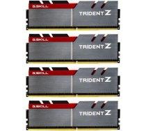 G.skill PC Memory TridentZ DDR4 4x8GB 3200MHz CL14-14-14 XMP2 F4-3200C14Q-32GTZ