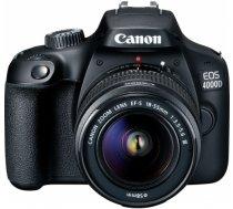 Canon EOS 4000D + 18-55mm III Kit, melns 3011C003