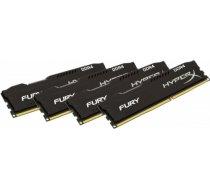 Kingston HyperX Fury Black 64GB 2400MHz CL15 DDR4 KIT OF 4 HX424C15FB3K4/64 HX424C15FB3K4/64