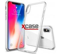 X-Line Apple iPhone X / iPhone XS Ultra Slim plāns 0.3 mm Telefona Apvalks Caurspīdīgs Maciņš Vāciņš Soma Maks Cover Bampers Case