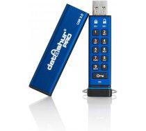 Drošs šifrēts secure pin 256bit USB flash 128 GB