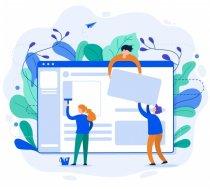 Mājas lapu lapas izstrāde izveide | Разработка сайта | Website development