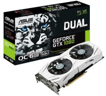 SALE OUT. ASUS DUAL-GTX1060-O6G Asus REFURBISHED WITHOUT ORIGINAL PACKAGING AND ACCESSORIES (DUAL-GTX1060-O6GSO)