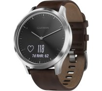 Garmin vivomove HR Premium silver/dark brown L (010-01850-04)