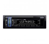 JVC KD-T401 Automagnetola CD / USB / SD / MMC / RCU / AUX / RADIO / 4 X 50W  Black
