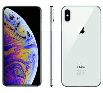Apple iPhone XS MAX 512GB Silver mazlietots Grade B, IPHONEXSMAX512Silverbgrade