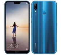 Huawei P20 Lite Blue, 5.84 , LTPS IPS LCD, 1080 x 2280 pixels, HiSilicon Kirin, 659, Internal RAM 4 GB, 64 GB, microSD, Dual SIM, Nano-SIM, 3G, 4G, Main camera Dual 16+2 MP, Secondary camera 16 MP, Android, 8.0, 3000 mAh