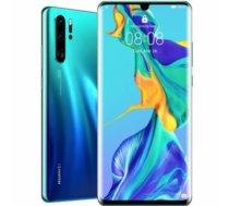 Huawei P30 Pro Aurora Blue, 6.47 , OLED, OLED pixels, Internal RAM 8 GB, 128 GB, microSD, Dual SIM, Nano-SIM, 3G, 4G, Main camera 40+20+8 MP, Secondary camera 32 MP, Android, 9.0, 4200 mAh