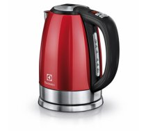 Electrolux Kettle EEWA7700R With electronic control, Stainless steel, Watermelon Red, 2400 W, 360° rotational base, 1.7 L
