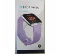 SALE OUT. Fitbit Versa Lite Smartwatch S/L, Lilac/Silver Aluminum Fitbit Versa Lite Fitness Tracker FB415SRLV DEMO, Warranty 23 month(s), Touchscreen, Bluetooth, Built-in pedometer, Heart rate monitor, Waterproof, LCD, Lilac/Silver Aluminum