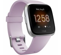 Fitbit Versa Lite Fitness Tracker FB415SRLV LCD, Lilac/Silver Aluminum, Touchscreen, Bluetooth, Built-in pedometer, Heart rate monitor, Waterproof