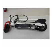 SALE OUT. Razor e200 Electric Scooter, White/Red / USED, REFURBISHED, SCRATCHED, WITHOUT ORIGINAL PACKAGING, MISSING WRENCH Razor 8 , E200, Electric Scooter, 200 W, 19 km/h, 12 month(s), White/Red