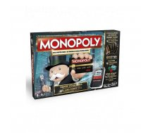 HASBRO Spēle Monopols elektroniskā versija ar bankas kartēm RUS B6677RUS