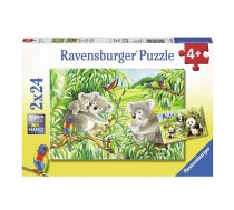 Ravensburger puzle 2X24 Koala and Panda R 07820