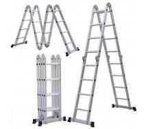 Multifunkcionālās kāpnes alumīnija 4x4 pak. DRABEST