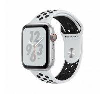 Apple Watch Nike+ Series 4 44 mm OLED 4G Silver GPS (satellite) | MTXK2FD/A