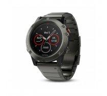 Garmin fēnix 5X sport watch Bluetooth 240 x 240 pixels Black, Grey   010-01733-03