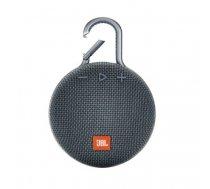 JBL Clip 3 3.3 W Mono portable speaker Blue | JBLCLIP3BLU