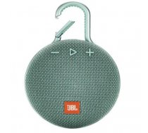 JBL Clip 3 3.3 W Mono portable speaker Turquoise | JBLCLIP3TEAL
